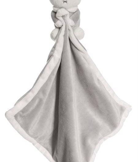 Miffy nusseklud - Grå m/u navn