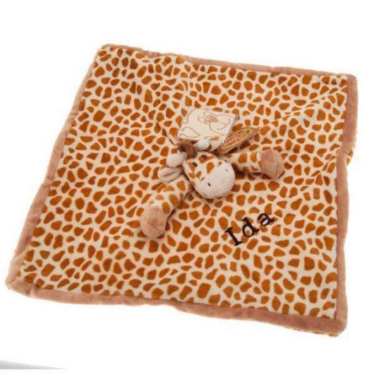 Nusseklud med navn - Giraf