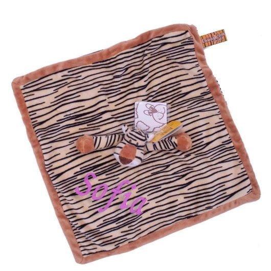 Nusseklud med navn - Tiger