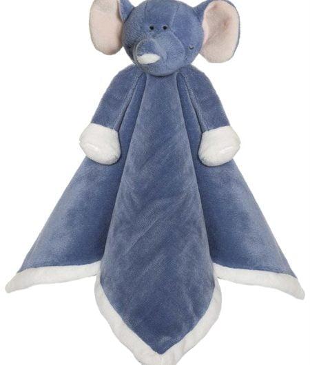 Nusseklud, Elefant i denim blå