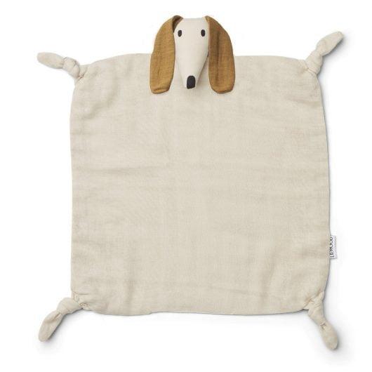 Liewood nusseklud, 35x35 - AGNETE - Dog Sandy