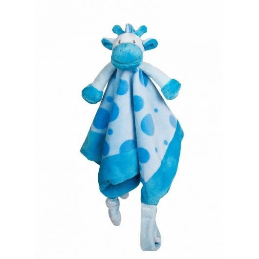 Nusseklud, Giraf, blå - My Teddy