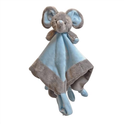 Nusseklud, Min første elefant, blå - My Teddy