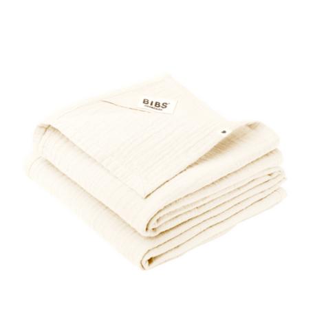 Bibs, Cuddle Cloth - 2 Pak, Nusseklud - Stofble - Multiklud, Ivory