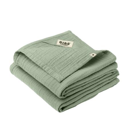 Bibs, Cuddle Cloth - 2 Pak, Nusseklud - Stofble - Multiklud, Sage