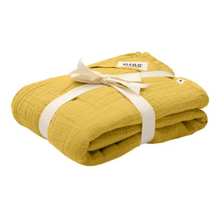 Bibs, Cuddle Swaddle - 1 Stk., Nusseklud - Stofble - Multiklud, Mustard