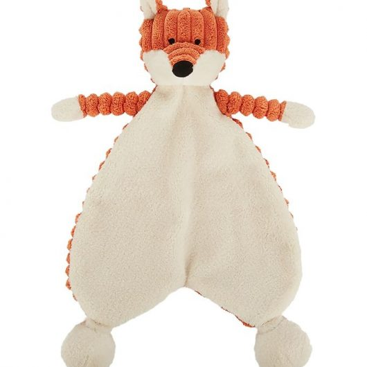 Jellycat Nusseklud - 23x19 cm - Cordy Roy Baby Fox