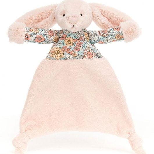 Jellycat Nusseklud - 25x22 cm - Blossom Blush Bunny