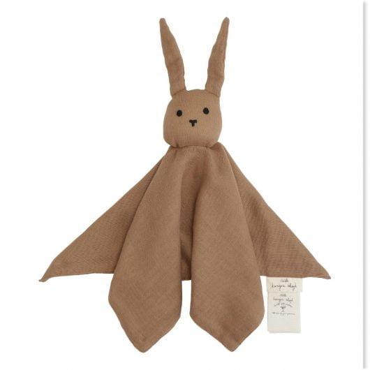 Konges Sløjd nusseklud, Sleepy Rabbit - Almond