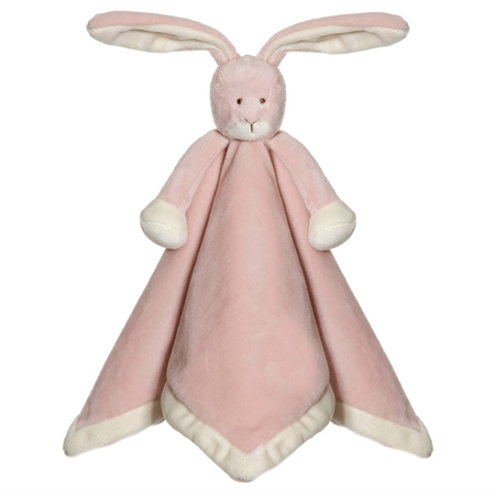 Nusseklud med navn - Kanin lyserød
