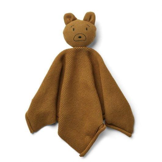 Liewood strikket nusseklud, mr bear golden caramel