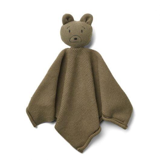 Liewood strikket nusseklud, mr bear khaki