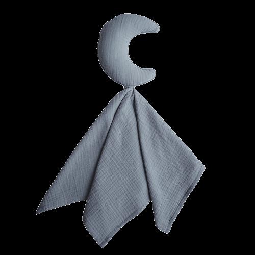 Mushie Nusseklud - Lovey Blanket Moon Tradewinds