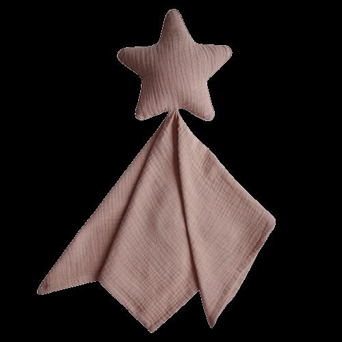 Mushie Nusseklud - Lovey Blanket Star Natural