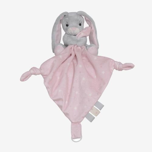 """My teddy """"New born star"""" nusseklud - Rosa kanin"""