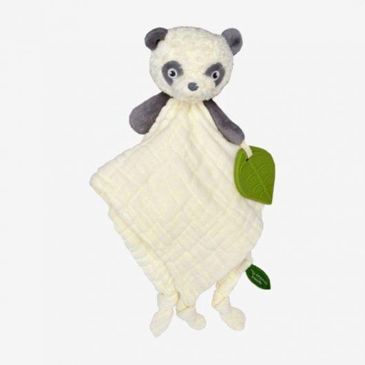 My teddy Økologisk Panda nusseklud - Hvid