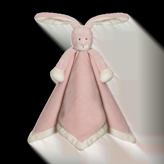 Teddykompaniet Nusseklud Kanin - Støvet rosa