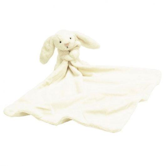 Jellycat Nusseklud - 34x34 cm - Bashful Cream Bunny