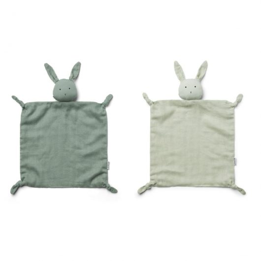 Liewood nusseklud, AGNETE 2-pk - Rabbit Mint Mix