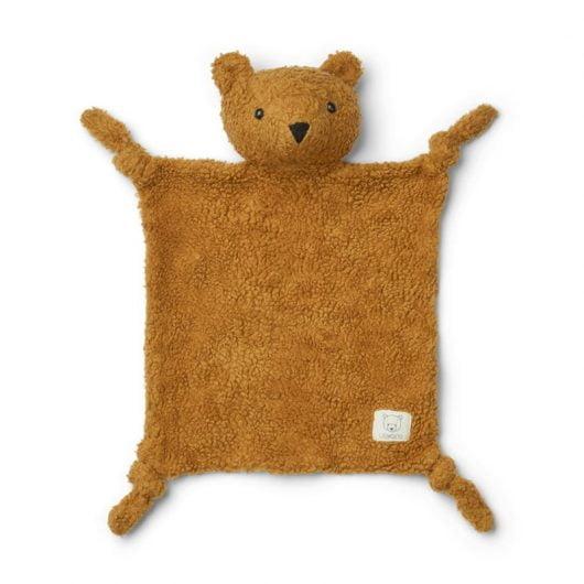 Liewood teddy nusseklud, Mr Bear - golden caramel