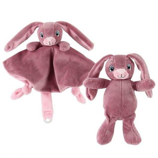 My Teddy Bamse & Nusseklud - Rosa - Kanin